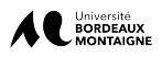 Logo de l'université Bordeaux Montaigne